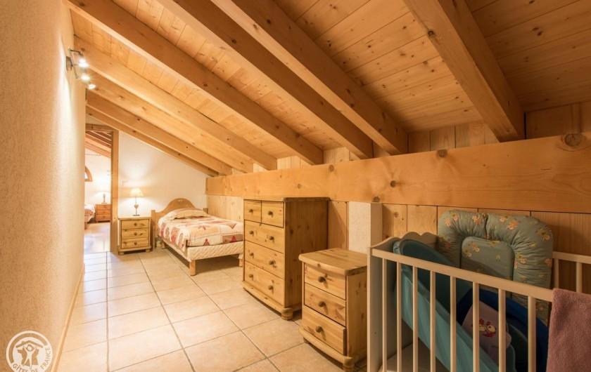 Location de vacances - Chalet à Châtel - chambron de la chambre 6