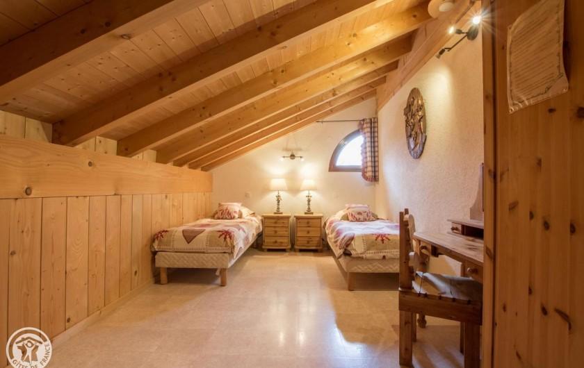 Location de vacances - Chalet à Châtel - chambre 6