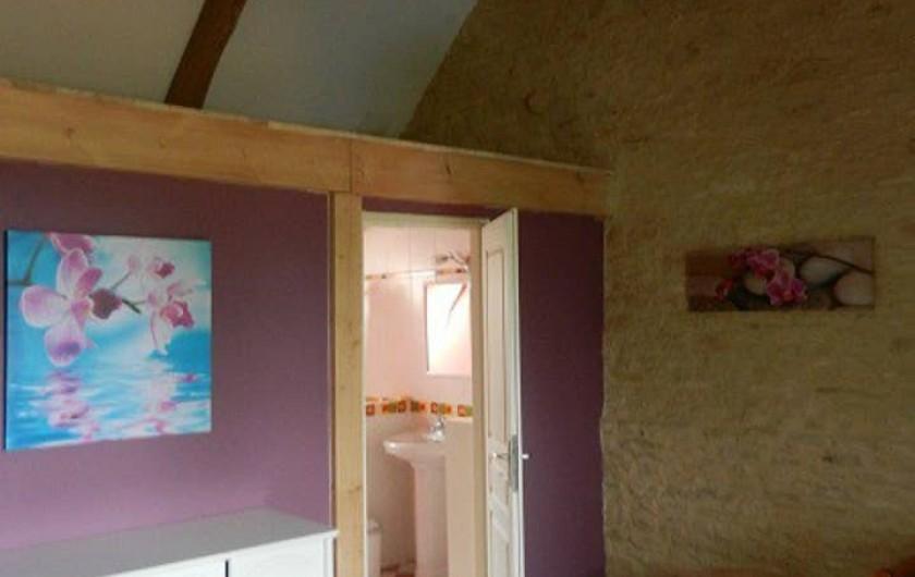 Location de vacances - Gîte à Dégagnac - Vue sur Salle d'eau de la Chambre 2.