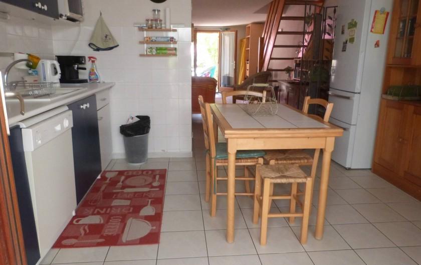 Location de vacances - Villa à Gruissan Plage - la cuisine