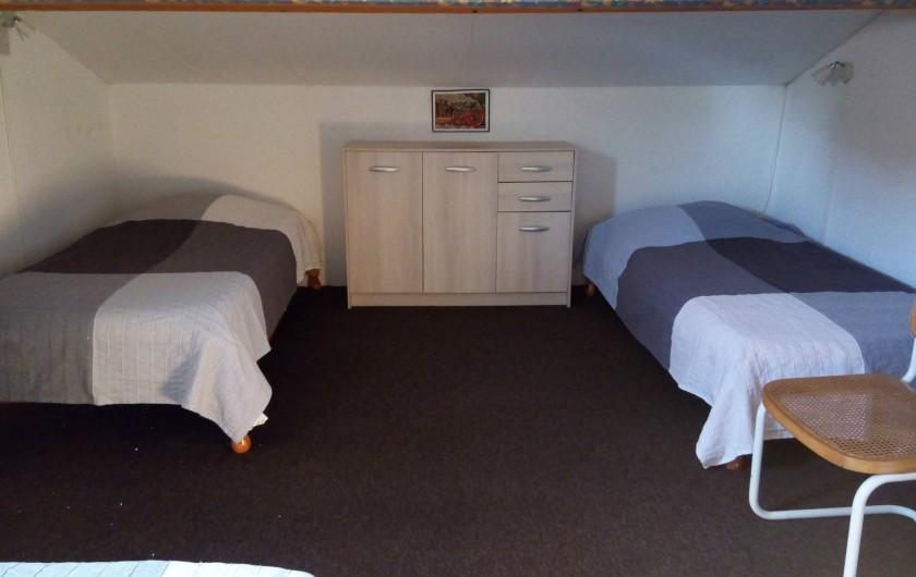 Location de vacances - Villa à Gruissan Plage - chambre 2
