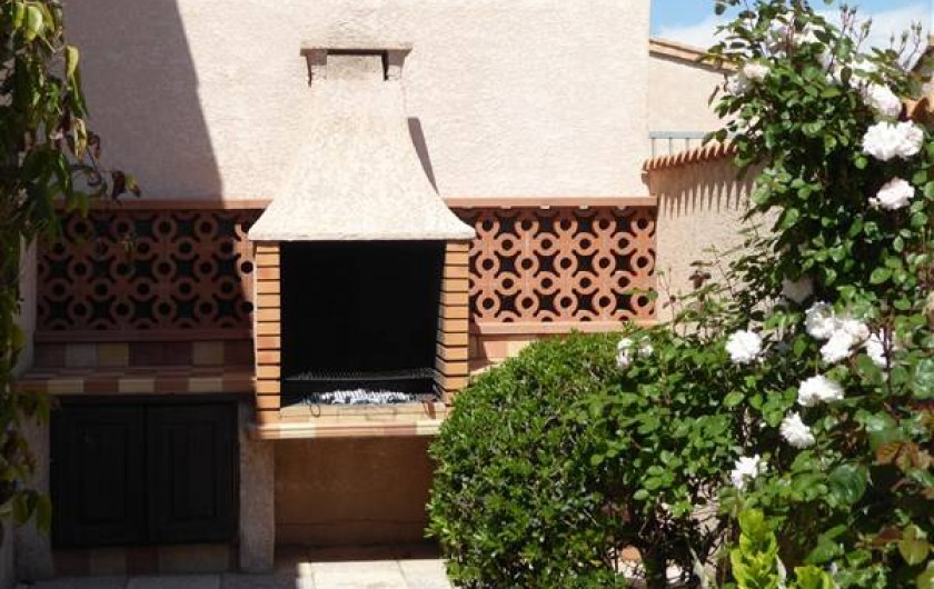 Location de vacances - Villa à Portiragnes Plage - BBQ