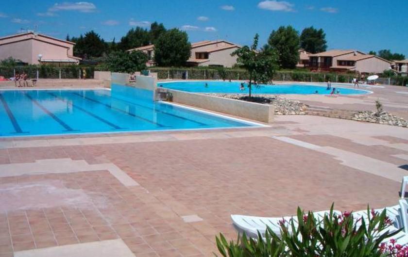 Location de vacances - Villa à Portiragnes Plage - Piscine 2 (chauffée)