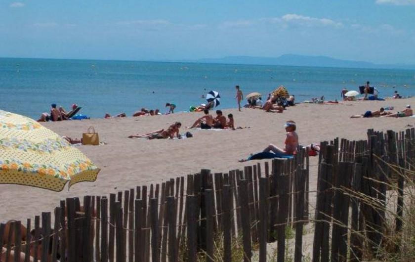 Location de vacances - Villa à Portiragnes Plage - Plage