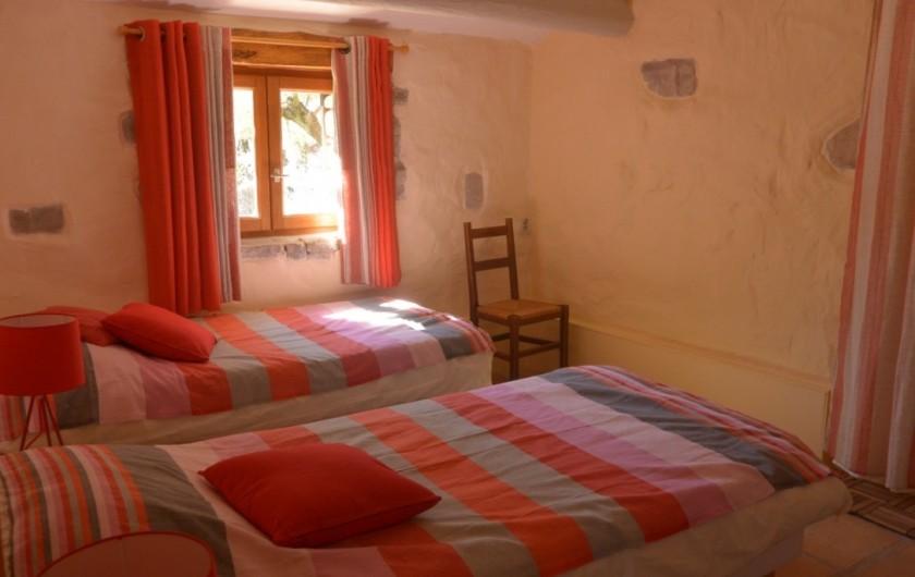 Location de vacances - Mas à Mourèze - Chambre 2- maintenant 1 lit double
