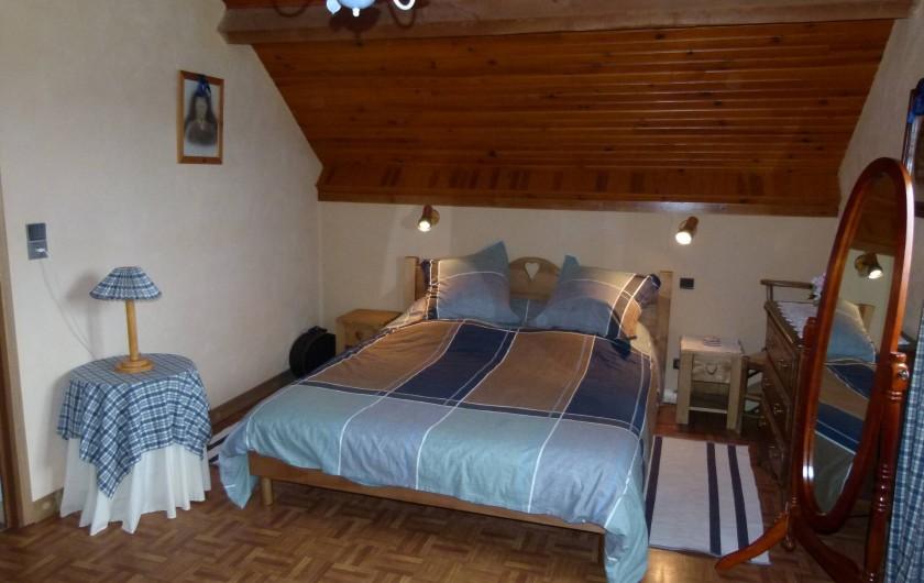 Location de vacances - Chalet à Picherande - chambre n° 1 lit 160