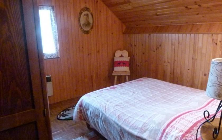 Location de vacances - Chalet à Picherande - chambre 3 1 lit 140