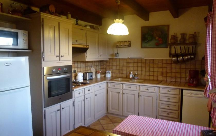 Location de vacances - Chalet à Picherande - cuisine