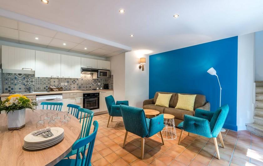 Location de vacances - Appartement à Rayol-Canadel-sur-Mer - Appartement avec un accès direct jusqu'à 8 pers