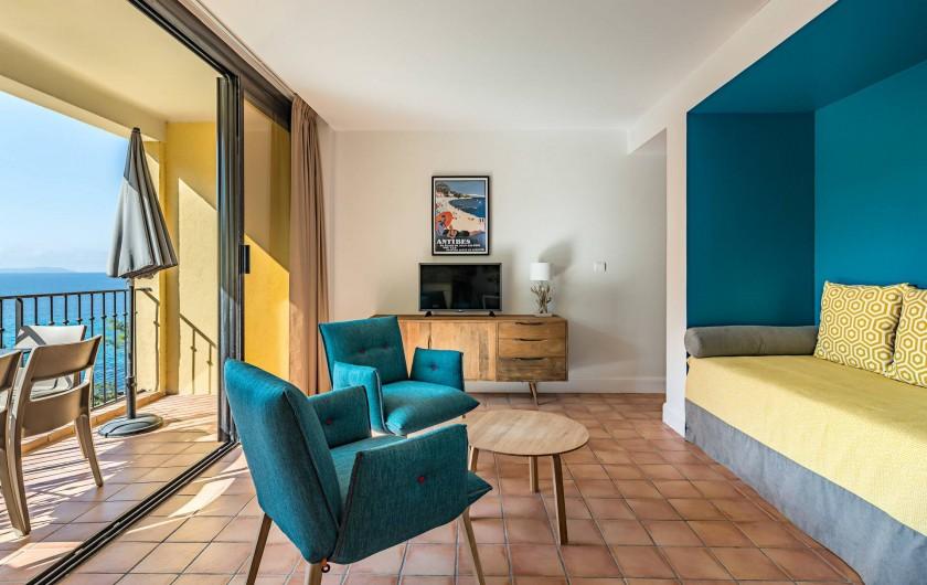 Location de vacances - Appartement à Rayol-Canadel-sur-Mer - Appartement avec un accès direct jusqu'à 4 pers