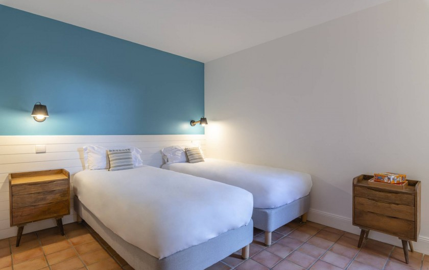 Location de vacances - Appartement à Rayol-Canadel-sur-Mer - Appartement vue jardin jusqu'à 6pers.