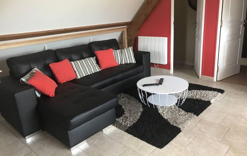 Location de vacances - Appartement à Rouvray - SALON