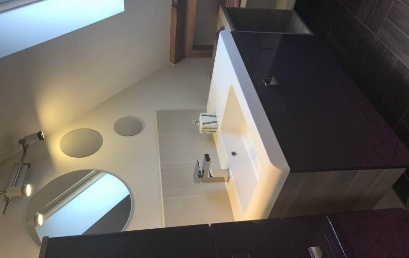 Location de vacances - Appartement à Rouvray - SALLE D'EAU