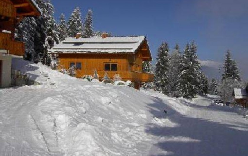 location chalet doucy combelouviere