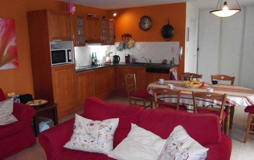Location de vacances - Maison - Villa à Lauzerte - Cuisine/Salle à manger