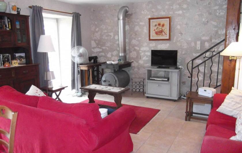 Location de vacances - Maison - Villa à Lauzerte - Coin salon