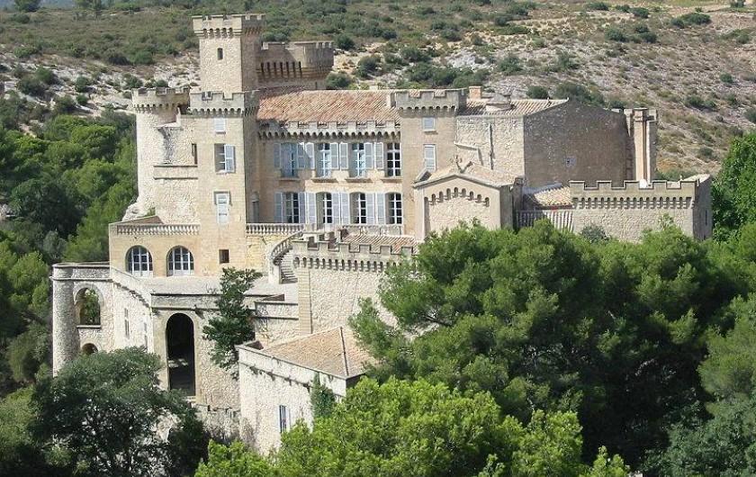 Location de vacances - Mas à La Barben - Château de La Barben