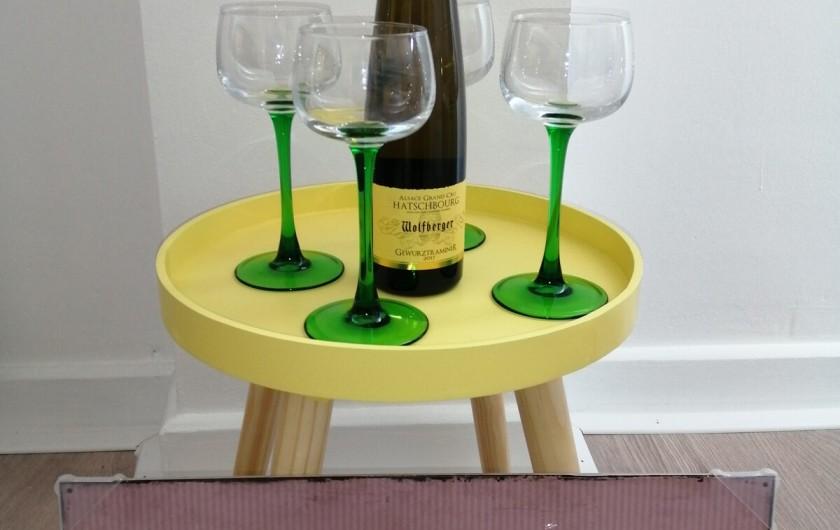 Location de vacances - Appartement à Colmar - de Novembre à Février, on vous offre une bouteille, et on vous conseille !