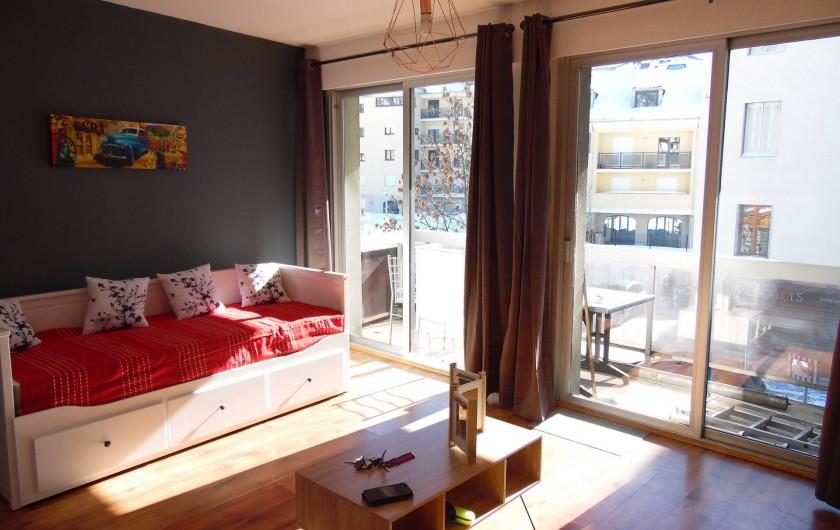 Location de vacances - Appartement à Briançon - Banquette lit 2 personnes