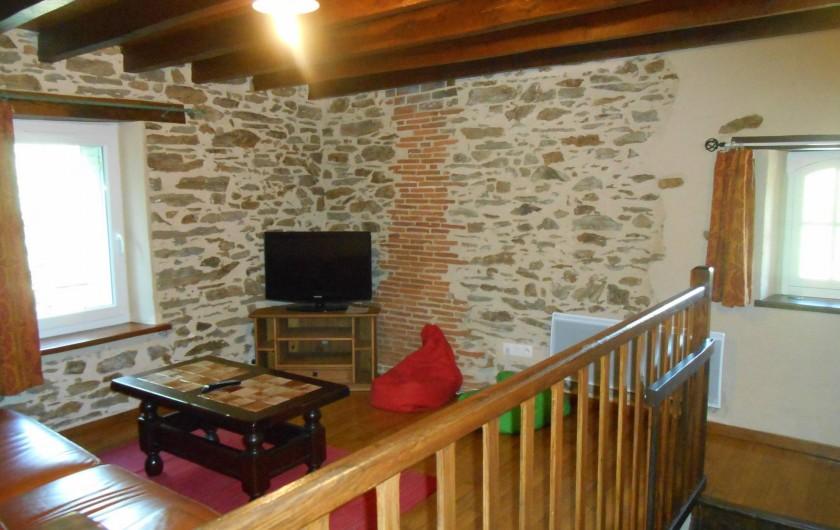 Location de vacances - Maison - Villa à Nouzerolles - autre vue salon du haut