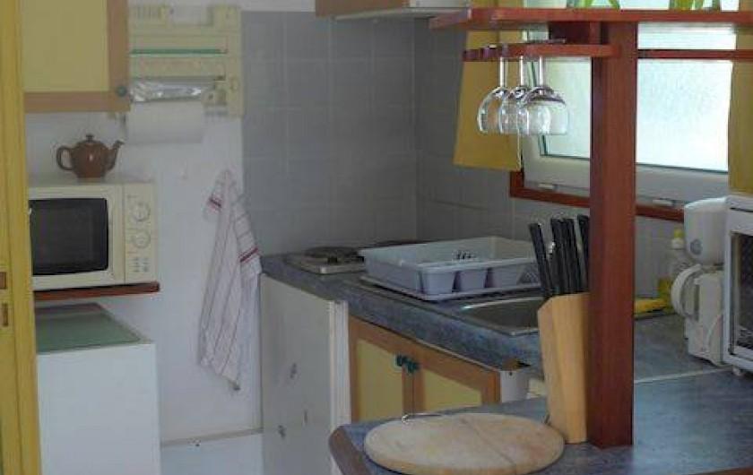 Location de vacances - Studio à Vannes - STUDIO AU CŒUR D'UN JARDIN n°3