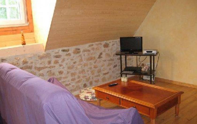 Location de vacances - Gîte à Saint-Chamassy - coin télé