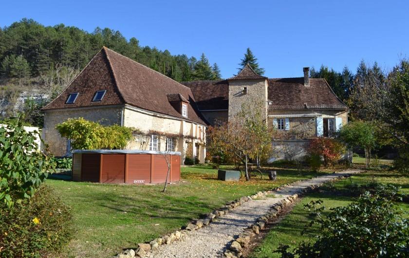Location de vacances - Gîte à Saint-Chamassy - l'ensemble de la maison