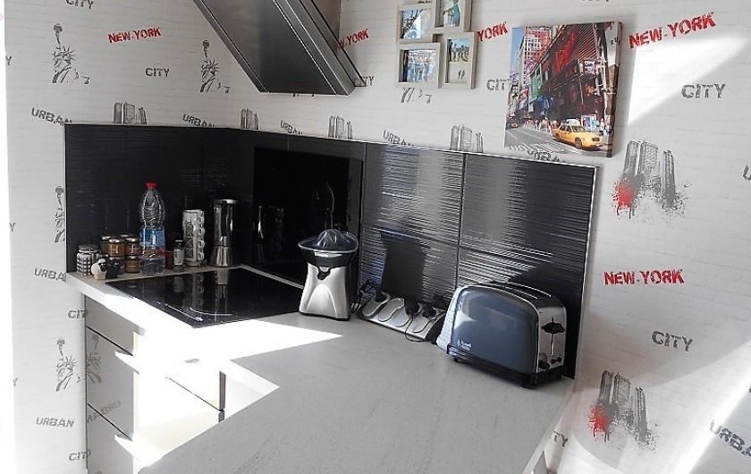Location de vacances - Villa à Nantille - cuisine