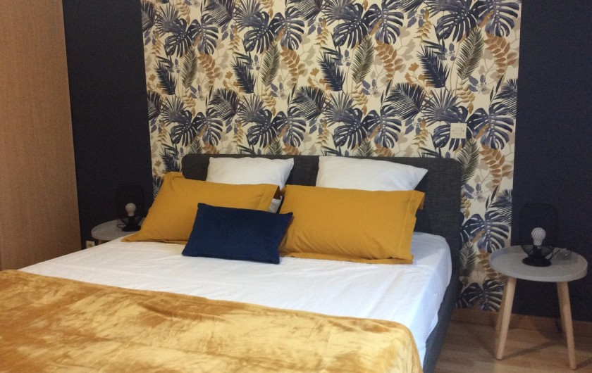 Location de vacances - Villa à Nantille - Chambre 2 rdc lit 160