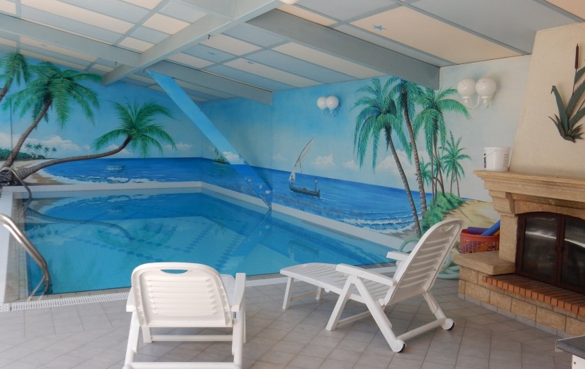 Location de vacances - Villa à Orange - piscine 9.50 m x 4.50 m