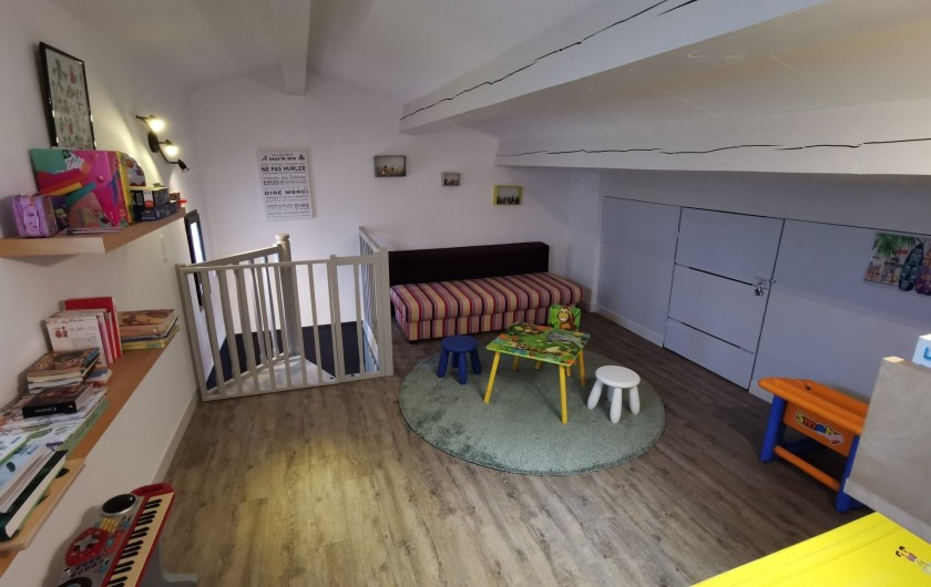 Location de vacances - Villa à Conilhac-Corbières - salle de jeu pour les enfants