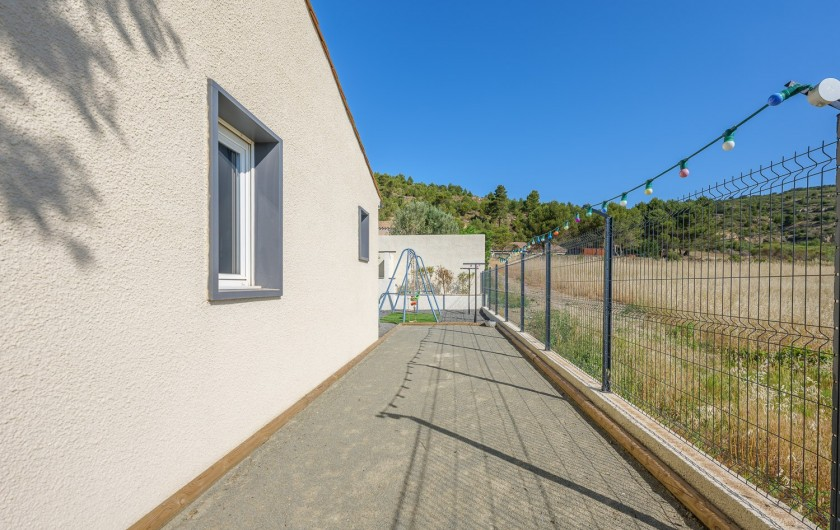 Location de vacances - Villa à Conilhac-Corbières - CHAMBRE BLEU