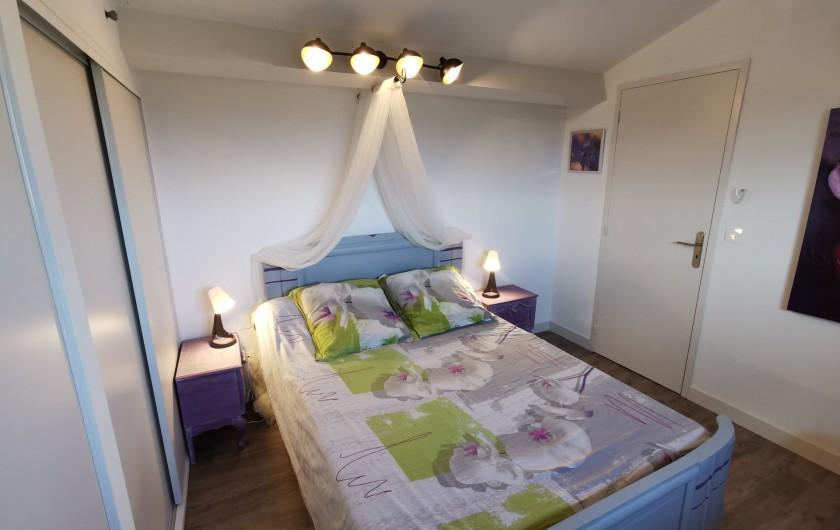 Location de vacances - Villa à Conilhac-Corbières - chambre bonbonniére