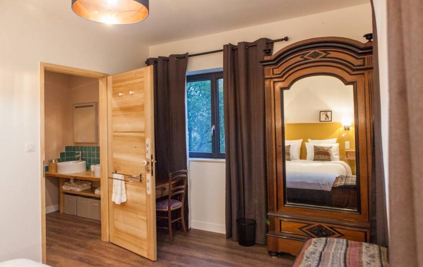 Location de vacances - Gîte à Saint-Antonin-Noble-Val - Chambre Toco