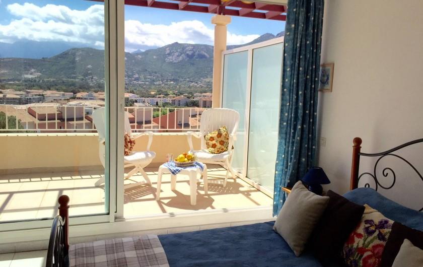 Location de vacances - Appartement à Calvi - Chambre lit double