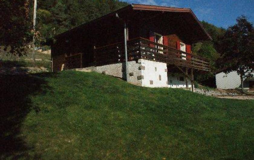 Location de vacances - Chalet à Stosswihr