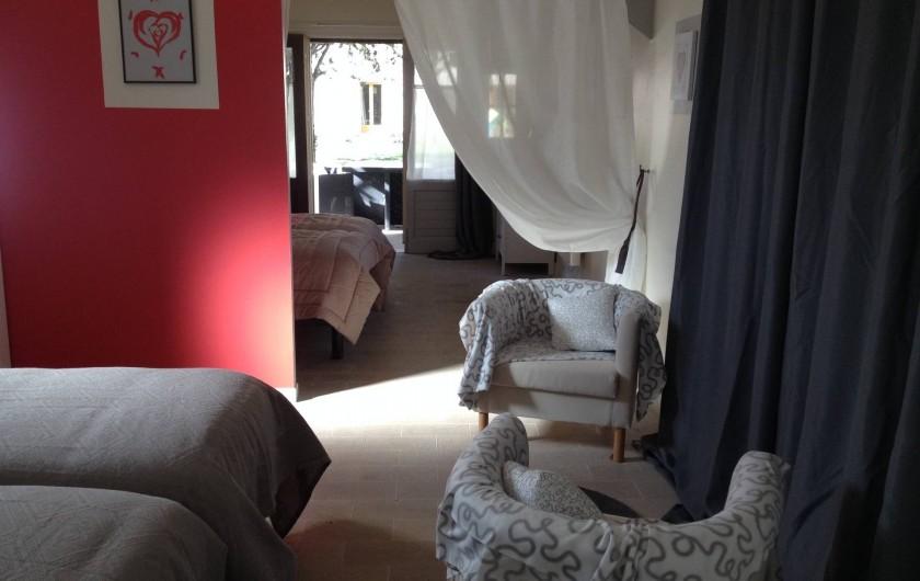 Location de vacances - Chambre d'hôtes à Messas - Petit salon.