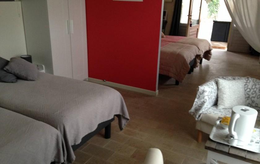 Location de vacances - Chambre d'hôtes à Messas - Plateau de courtoisie.