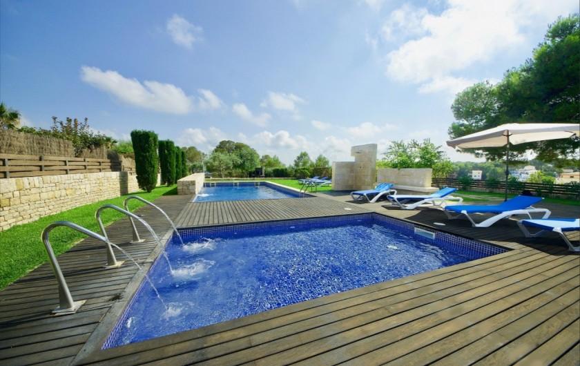 Location de vacances - Villa à El Perelló - JACCUSI & PISCINE