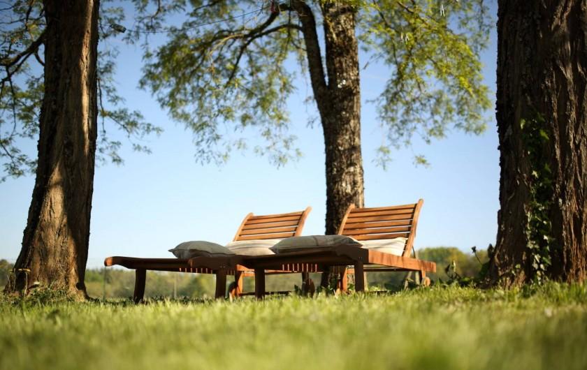 Location de vacances - Gîte à Le Bugue - Jardin de La Centaurée