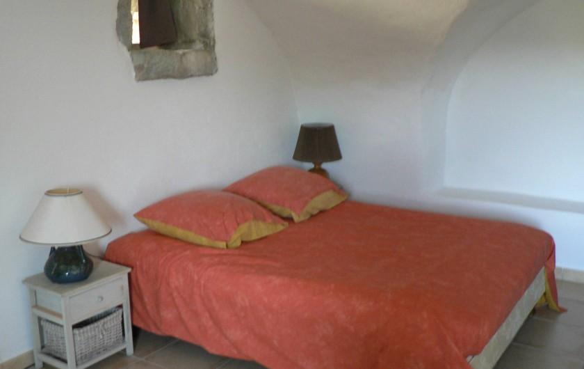 Location de vacances - Gîte à Saint-Maurice-d'Ibie - La chambre du gîte Relais de Vazeille
