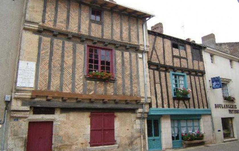Location de vacances - Roulotte à Aubigny - Les maisons à St Loup-Lamairé