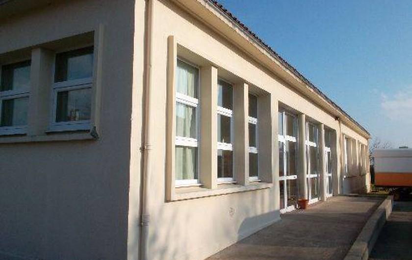 Location de vacances - Roulotte à Aubigny - Centre d'hébergement de groupe à Lamairé