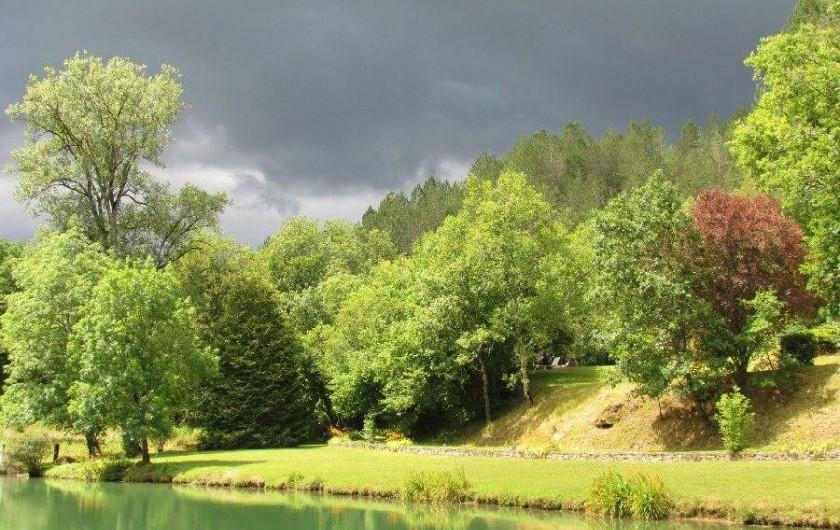 Location de vacances - Gîte à La Rouquette - Soir d'orage