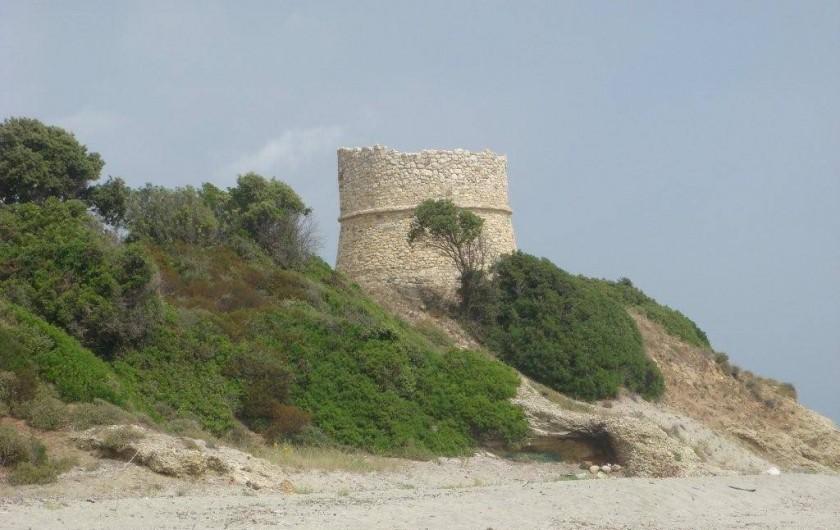 Location de vacances - Bungalow - Mobilhome à Ghisonaccia - Tour ruinée de Diana (20 km)