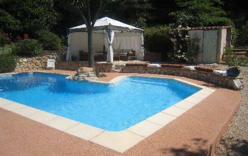 Location de vacances - Appartement à Aix-en-Provence - Coin détente et apéro