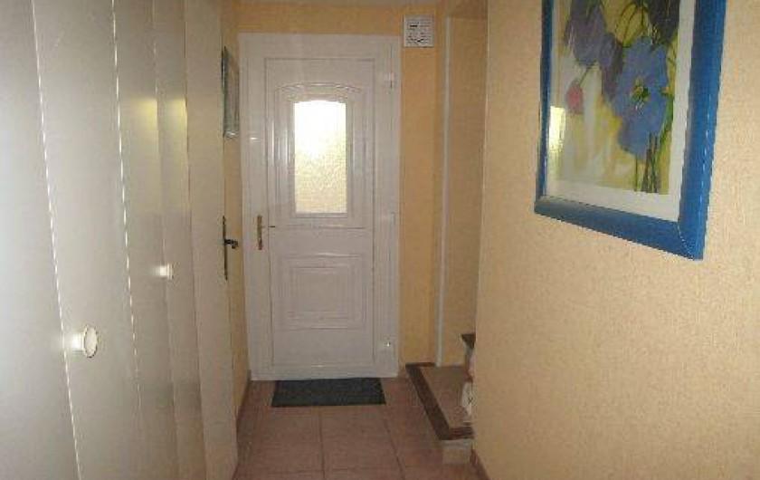 Location de vacances - Appartement à Aix-en-Provence - Entrée de l'appartement