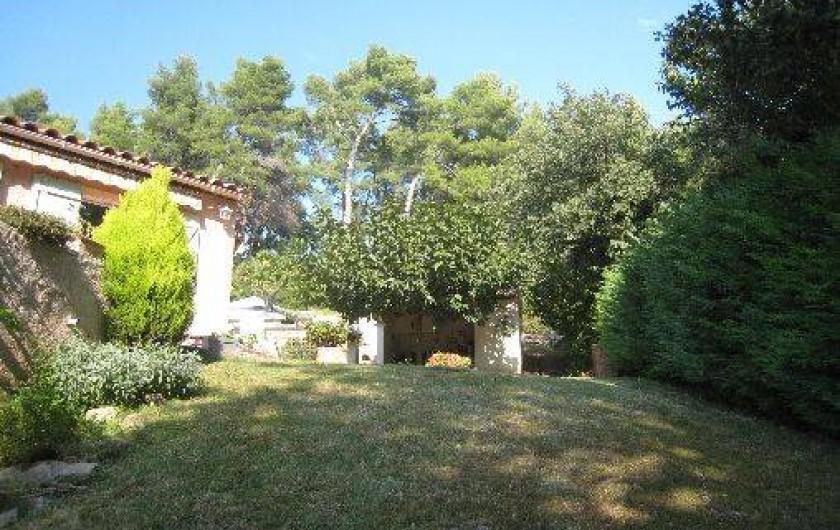 Location de vacances - Appartement à Aix-en-Provence - Aperçu de la cuisine d'été