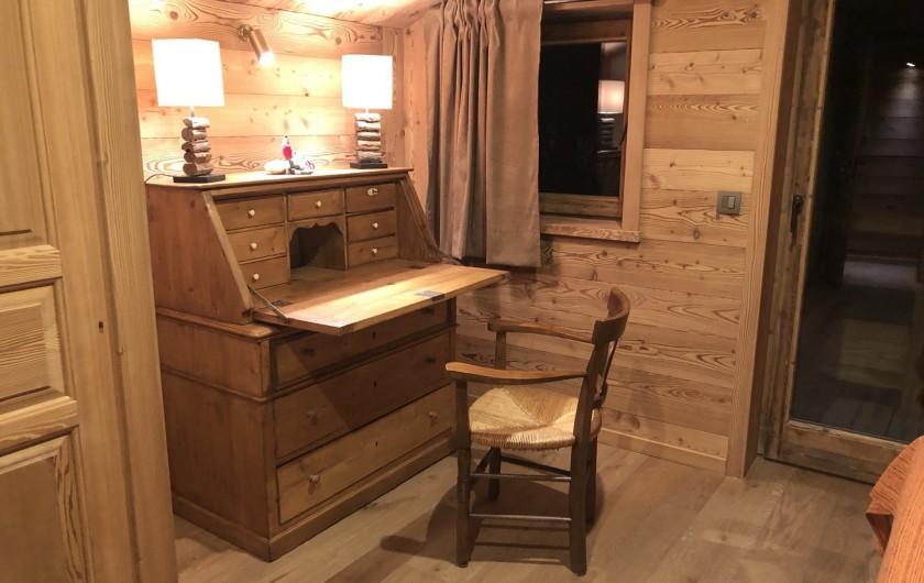 Location de vacances - Chalet à Chamonix-Mont-Blanc - ...Avec son bureau...