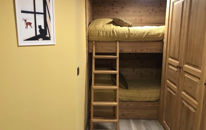 Location de vacances - Chalet à Chamonix-Mont-Blanc - Et 2 lits Ados/Enfants  ( 180x90)